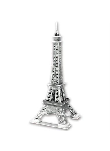Cubic Cubic Fun 3D 33 Parça Puzzle Eyfel Kulesi - Fransa Renkli